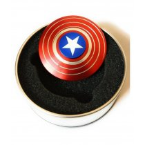 Captain America Metal Spinner (NLM)