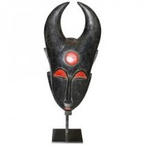 Rare African Baoule Mask (NLM)