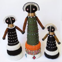 Ndebele Beaded Dolls (USD)